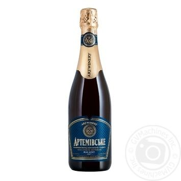 Artemivske white brut sparkling wine 13.5% 0.75l - buy, prices for CityMarket - photo 1