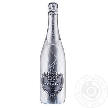 Sparkling wine Artwine white brut 10.0-13.5% 750ml Ukraine - buy, prices for Novus - image 1