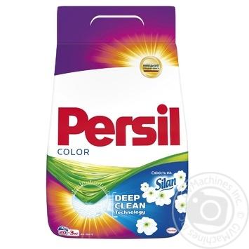 Порошок пральний Persil Color Свіжість від Silan автомат 3кг - купити, ціни на Novus - фото 1