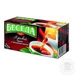Чай черный байховий Бесіда міцний 24 пакета 40,8г - купить, цены на Novus - фото 1