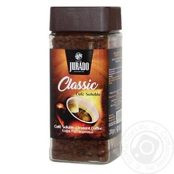 Кофе Jurado растворимый гранулированный 200г