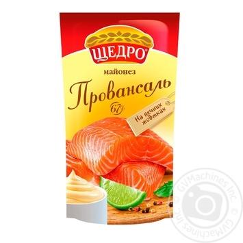 Майонез Щедро Провансаль 67% 150г