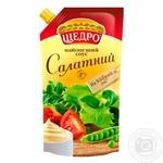 Майонезный соус Щедро Салатный 30% 550г