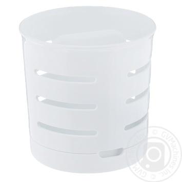 Сушарка для столових приладів двухкамерна біла chef@home Curver - купити, ціни на Novus - фото 1