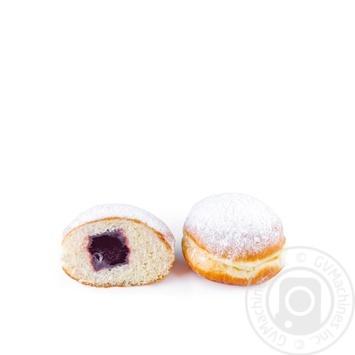 Пончики с джемом в ассортименте 70г