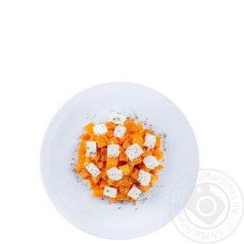 Салат из печеной тыквой и фетой - купить, цены на Novus - фото 1