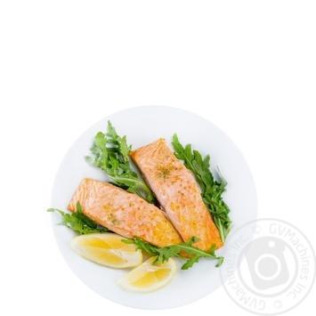 Филе лосося запеченное с копченой солью - купить, цены на Novus - фото 1