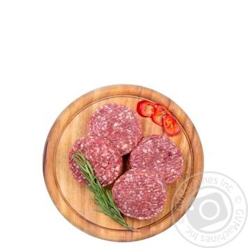 Гамбургер из говядины охлажденный