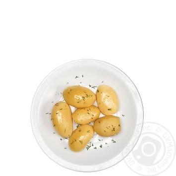 Garnish Masters of taste potato dill
