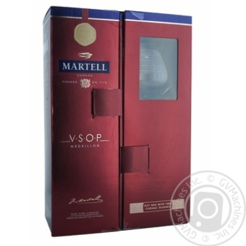 Коньяк Martell V.S.O.P. 40% 0,7л в подарунковiй упаковцi - купити, ціни на Novus - фото 2