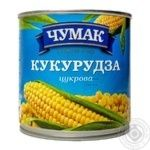 Vegetables corn Chumak canned 420g