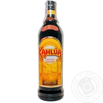 Ликер Kahlua 20% 0,7л - купить, цены на Ашан - фото 1