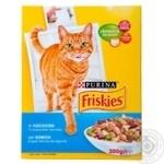 Корм сухой Friskies С лососем и овощами для взрослых котов 300г