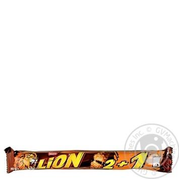 Шоколадный батончик Lion Карамель и хлопья 90г