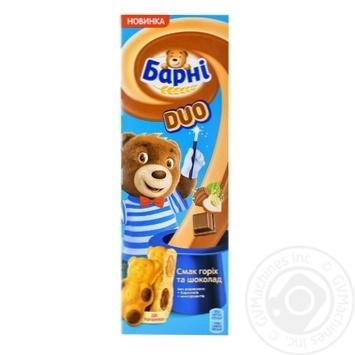 Тістечко бісквітне Барні смак горіх та шоколад 150г - купити, ціни на Novus - фото 2