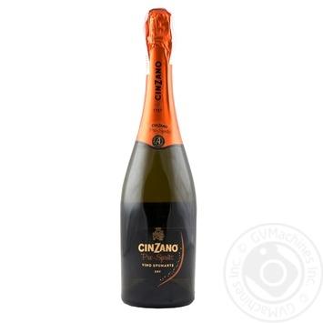 Вино ігристе Cinzano Pro-Spritz Spumante Bianco Etra Dry 11,5% 0,75л