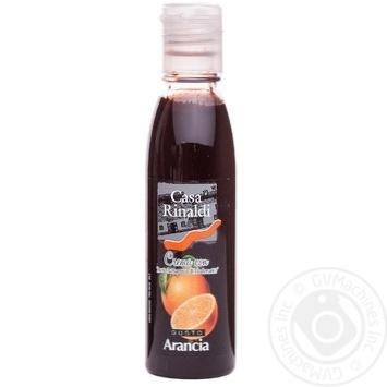 Крем бальзамический Casa Rinaldi со вкусом апельсина 150г - купить, цены на МегаМаркет - фото 1