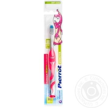 Зубна щітка Pierrot дитяча Монстр х12 - купить, цены на МегаМаркет - фото 1