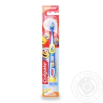 Зубная щётка Colgate Миньоны для детей 2+ супермягкая в ассортименте - купить, цены на Фуршет - фото 3