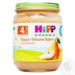 Puree Hipp pear for children from 4 months 125g