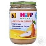 Puree Hipp fruit with bran for children from 6 months 190g