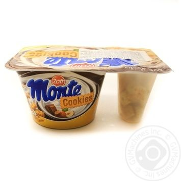 Zott Monte Cookies with chocolate and hazelnut+cookies milk dessert 13,1% 125g - buy, prices for MegaMarket - image 1