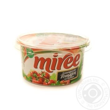Сыр Miree сливочный томат с базиликом 64% 150г - купить, цены на Novus - фото 1