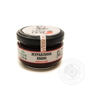 Джем Tato Pepper Jam клюква, тмин 130г - купить, цены на Novus - фото 1
