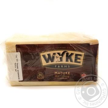 Сыр Wyke Farms Чеддер 56% - купить, цены на Novus - фото 1