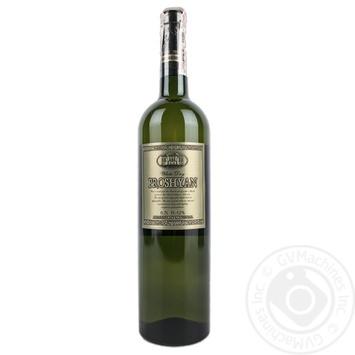 Вино Прошанський КЗ біле напівсолодке 11-12% 0,75л - купити, ціни на МегаМаркет - фото 1