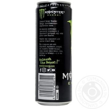 Напиток энергетический Monster Energy безалкогольный 355мл - купить, цены на Novus - фото 4