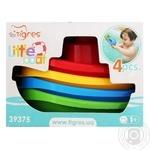 Игрушка Tigres Маленькая лодочка для детей набор 4шт