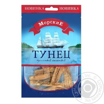 Тунец Морские сушеный соленый 36г - купить, цены на Ашан - фото 1