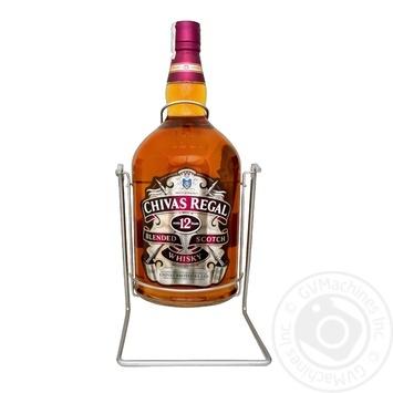 Виски Chivas Regal 12 лет 40% 4,5л на подставке-качелях - купить, цены на Фуршет - фото 1