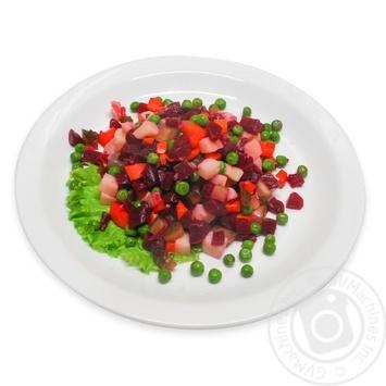 Салат Вінегрет з овочами - купити, ціни на МегаМаркет - фото 1