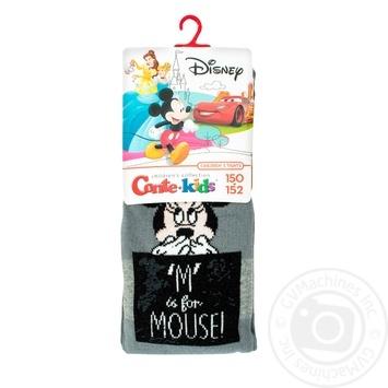 Колготи дитячі Conte Kids Disney 17С-130СПМ розмір 150-152, 462 темно-сірий - купити, ціни на Novus - фото 1