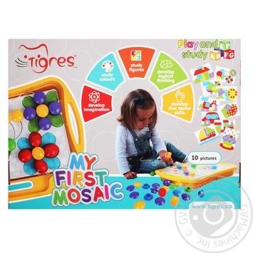 Іграшка розвиваюча Tigres моя перша мозаїка - купити, ціни на CітіМаркет - фото 1