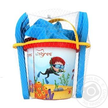 Набір іграшковий Tigres для пісочниці 6шт - купити, ціни на Ашан - фото 1
