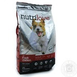 Food with chicken dry for dogs 1400g