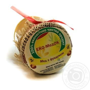 Мед ЭКО-МедОК с фундуком 320г