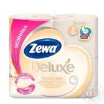 Туалетний папір Zewa Deluxe Aroma Spa 3-х шаровий 4шт