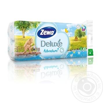 Туалетная бумага Zewa Сезон белая трехслойная 10шт - купить, цены на Novus - фото 3