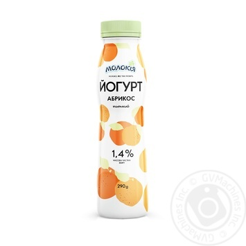 Йогурт Молокия Абрикос питьевой 1,4% 290г