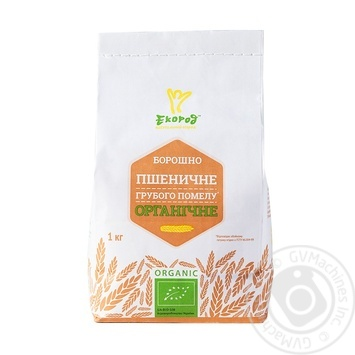 Ecorod Organic Whole Wheat Flour 1kg - buy, prices for MegaMarket - image 1