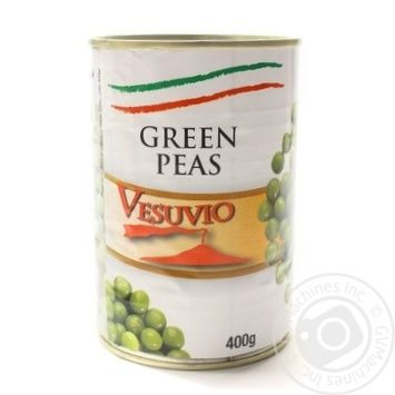Горошок зелений консервований стерилізований Fiamma 400 г - купить, цены на Novus - фото 1