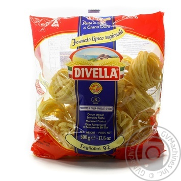 Pasta tagliolini Divella Private import 500g - buy, prices for Novus - image 6