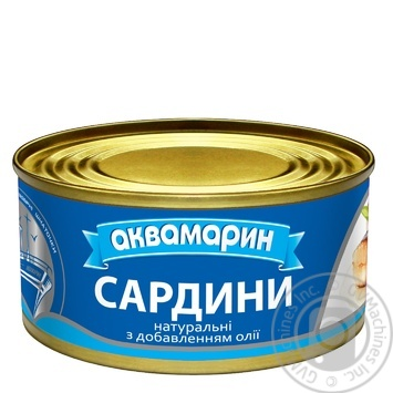Akvamaryn Sardines - buy, prices for Auchan - image 1