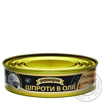 Akvamaryn In Oil Sprats 150g - buy, prices for Auchan - image 3