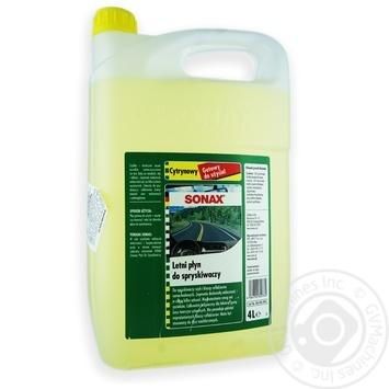 Очисник скла літній Sonax 4 л Лимон 260405 - купить, цены на Таврия В - фото 1