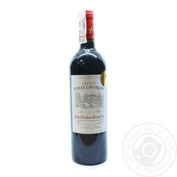 Chateau Vieux Lavergne Saint-Emilion Grand Cru Red Semi-Dry Wine 13% 0,75l - buy, prices for Novus - image 1